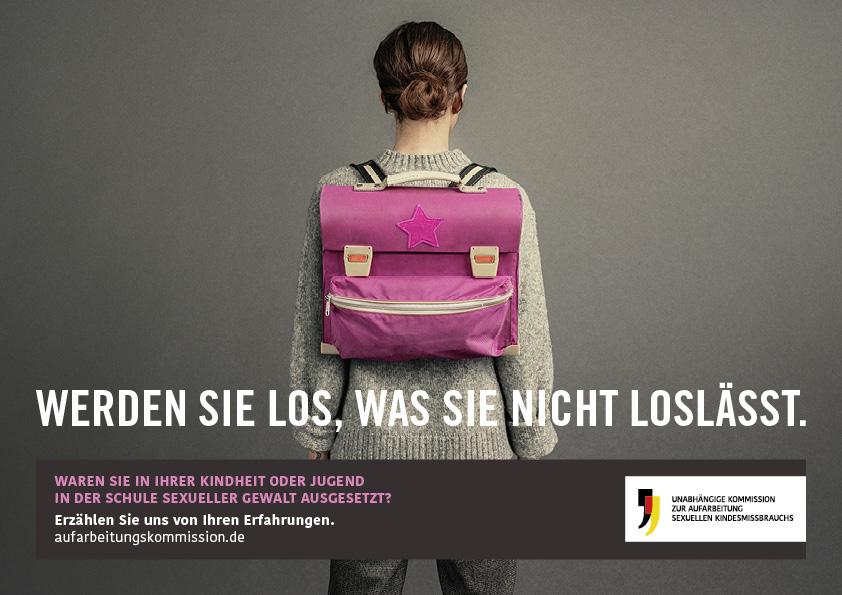 """Neue Kampagne: """"Werden Sie los, was Sie nicht loslässt."""""""